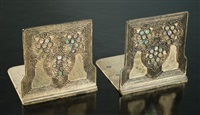 bookends by tiffany studios