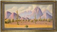 western landscape by hermann dudley murphy