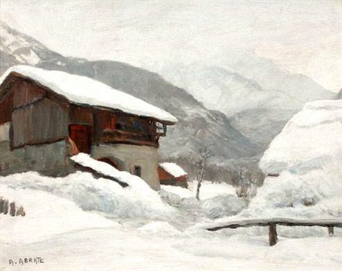 grisaille à servoz chamonix by angelo abrate