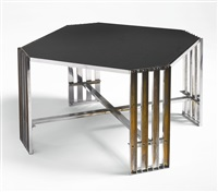 cocktail table by donald deskey
