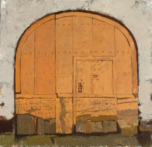 porte charretièle orange by jaap ploos van amstel