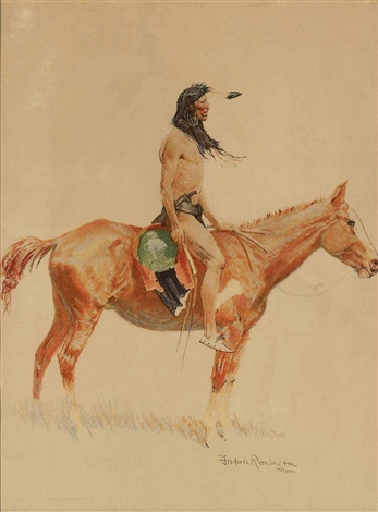 the cheyenne buck by frederic remington