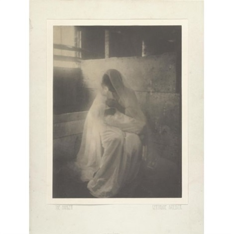 the manger by gertrude kasebier