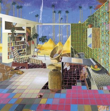 Egyptian room by Matthias Weischer on artnet