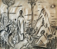 preaching on olivet's hill by alois wachsman