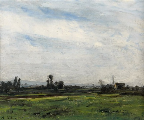 paysage by antoine vollon