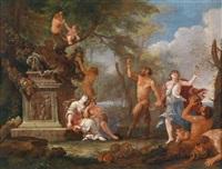 bacchanal by italian school-roman (17)