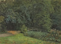 charlottenburger schlosspark by fedor poppe