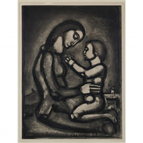 bella matribus detestata by georges rouault