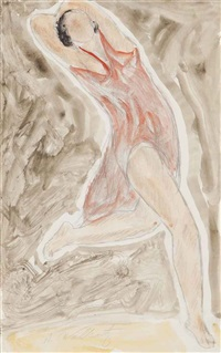 isadora duncan (3 works) by abraham walkowitz