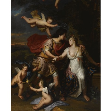 rinaldo and armida by gerard hoet the elder