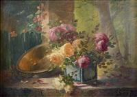 nature morte aux fleurs by laurence