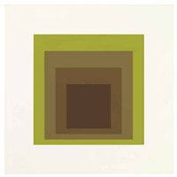 golden gate (from soft edge-hard edge) by josef albers