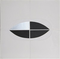 untitled 2 - silver quadrant by amadeo gabino
