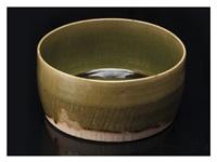 an oribe bowl by rosanjin kitaoji