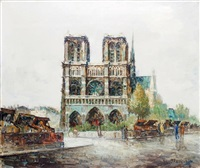 paris, notre-dame by frank-will