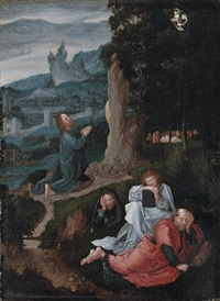 the agony in the garden by joachim patinir