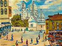 paris, montmartre by carlo battisti