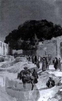 promeneurs et marchands by simonetti