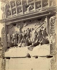 arc de titus, vue intérieure de l'arche, rome, italie by giuseppe ninci