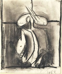 study for head by graham sutherland