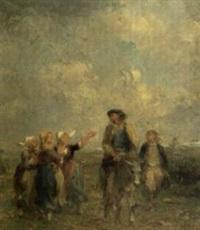 bretonnes by adolphe pierre leleux