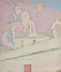 little church aegina by spyros papaloukas
