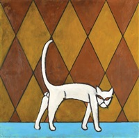 untitled (from the cats series) by farid abu-shakra