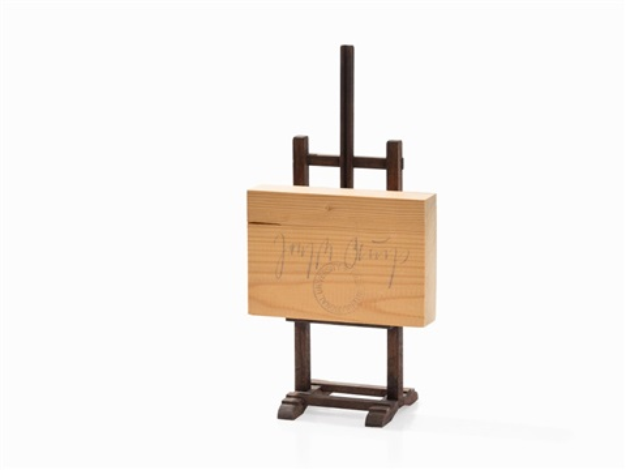 wooden postcard by joseph beuys on artnet