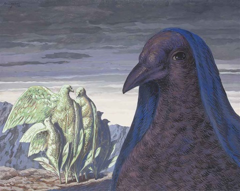 le prince charmant by rené magritte