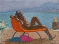 nude sunbathing by patrick leonard