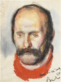 the portrait of lică by corneliu baba