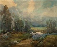 morning mist, san gabriel valley by marion kavanaugh wachtel