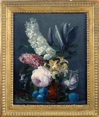bouquet de fleurs by edouard joseph françois autrique