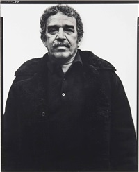 gabriel garcia marquez, writer, new york city by richard avedon