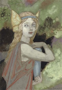 psyche in hades by john duncan