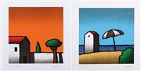 senza titolo (2 works) by tino stefanoni
