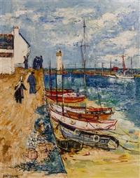 sail boats by yolande ardissone