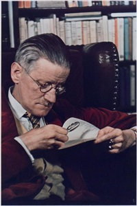 james joyce, paris by gisèle freund