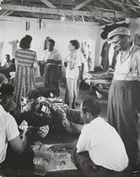 israël - camp de réfugiés israéliens by robert capa