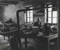 picasso, atelier madoura by edward quinn
