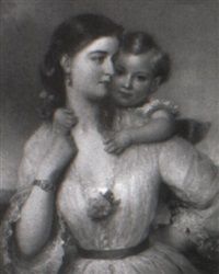 mother and child by samuel barry godbold