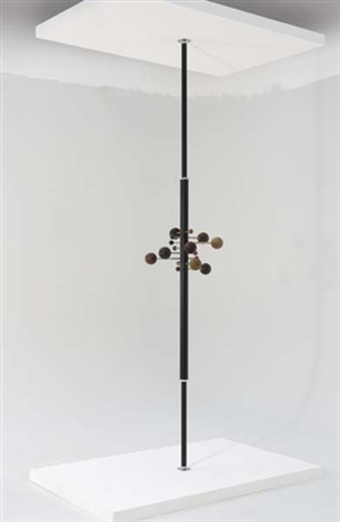 revolving coat rack model no at16 by osvaldo borsani