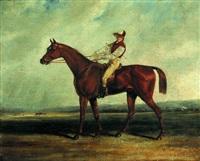 un jockey et sa monture by victor-jean adam