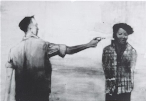 memory rendering of saigon execution of a viet cong suspect from the best of life by vik muniz