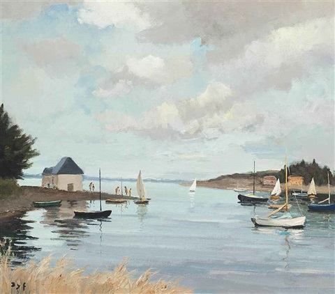avant port au passage by marcel dyf