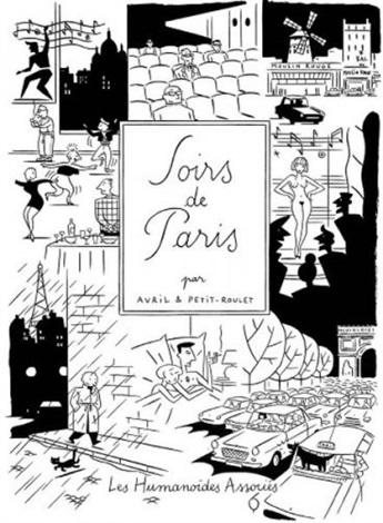 soirs de paris cover for album by francois avril