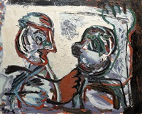 the conversation by karel appel