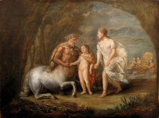 léducation dachille par le centaure chiron by pierre nicolas legrand de lérant