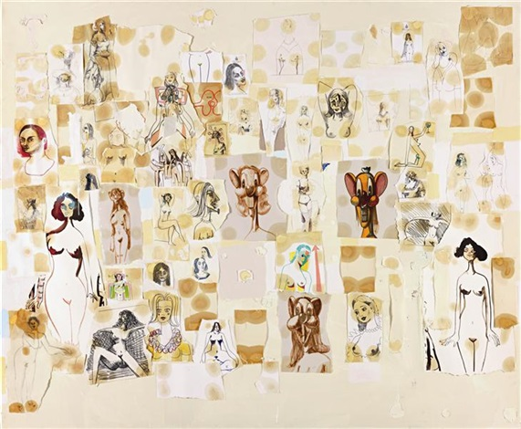 mental states (the women of tisbury court) by george condo